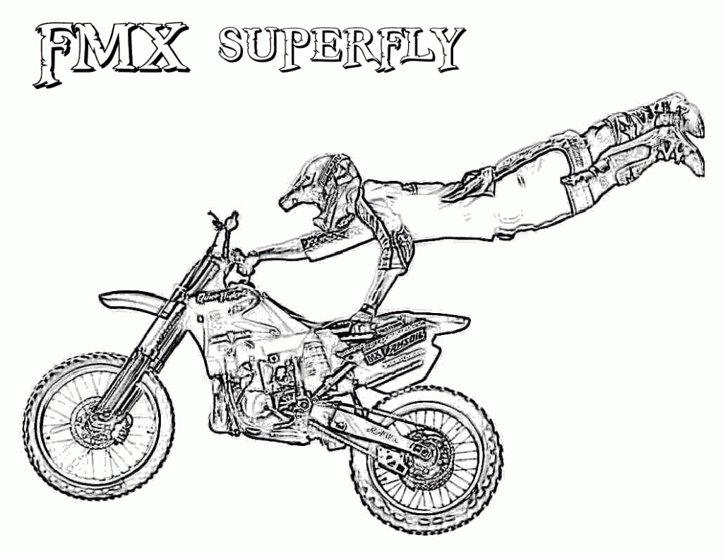 Dirt Bike Boots Coloring Pages Sketch Coloring Page