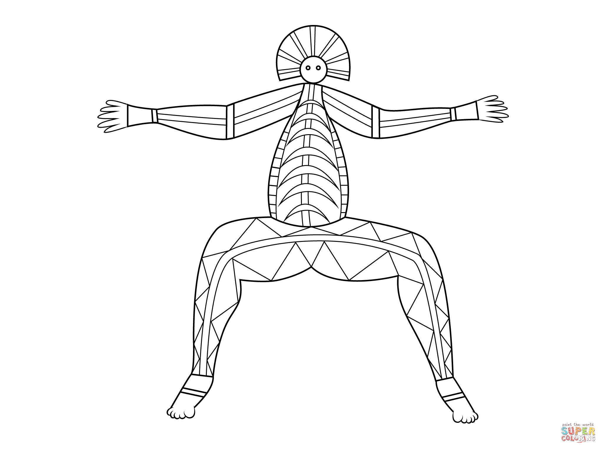 X Ray Coloring Pages
