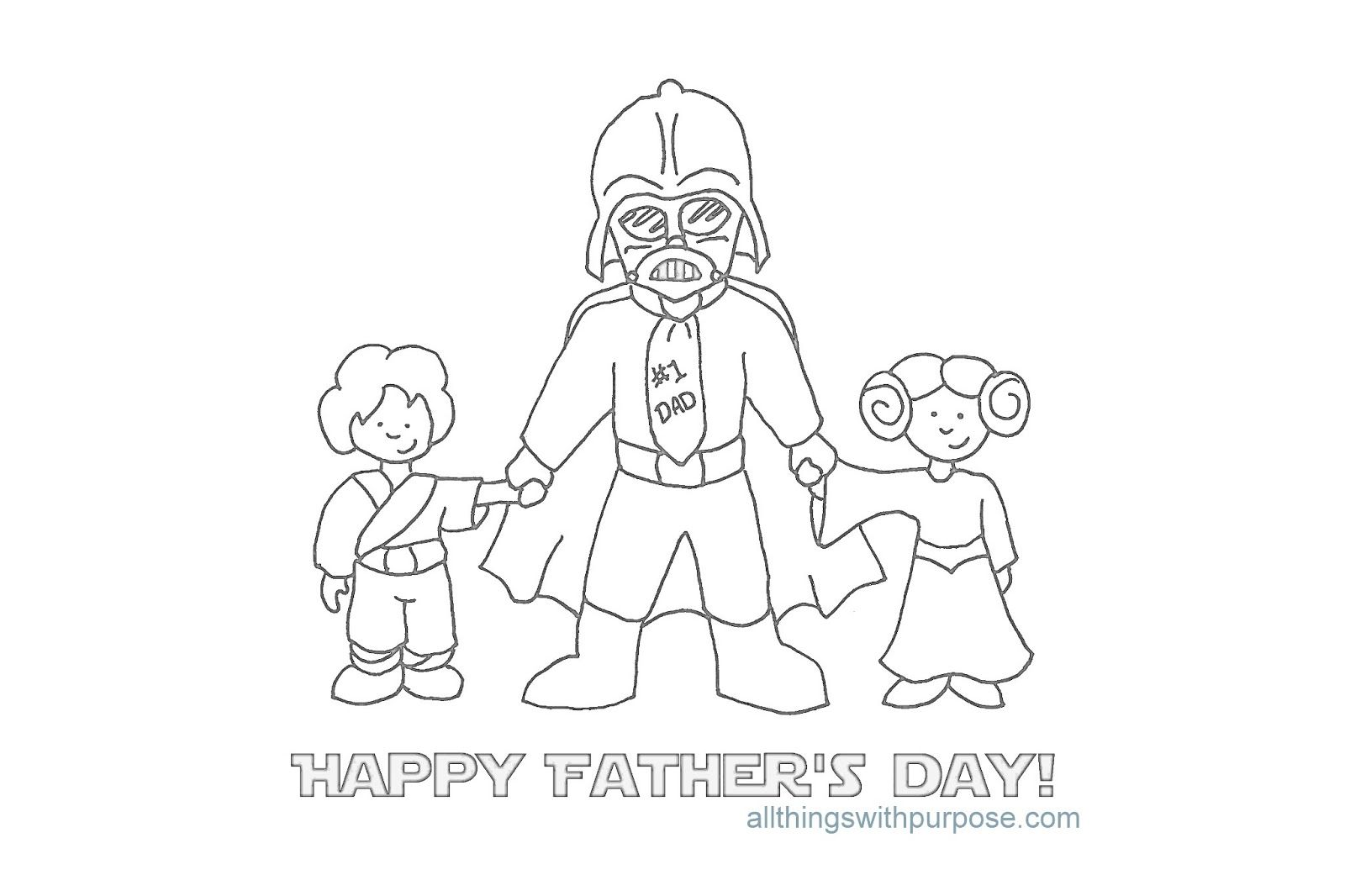 Birthday Coloring Pages For Daddy