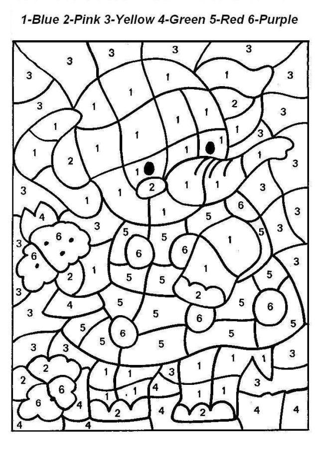 Number Coloring Pages Number Coloring Pages 26 260 Worksheets Free