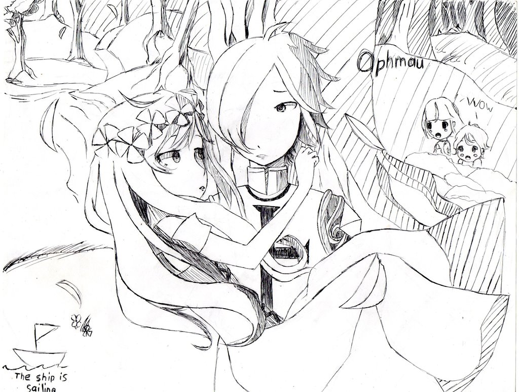 Aphmau Coloring Pages