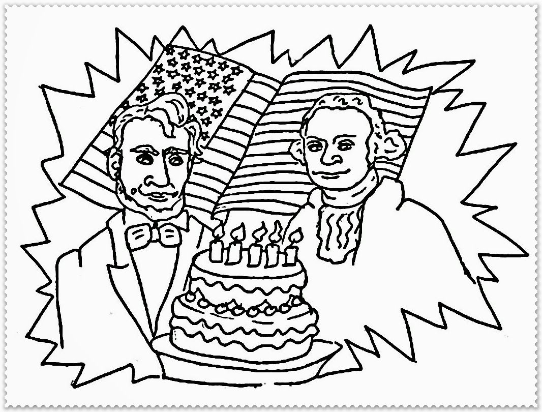 Worksheet President S Day Coloring Pages