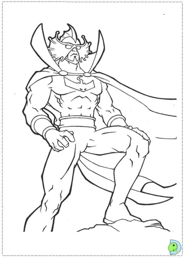 aquaman coloring pages # 24