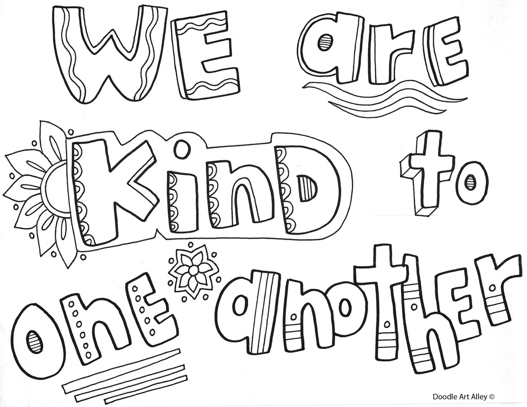 Behavior Expectations Coloring Pages