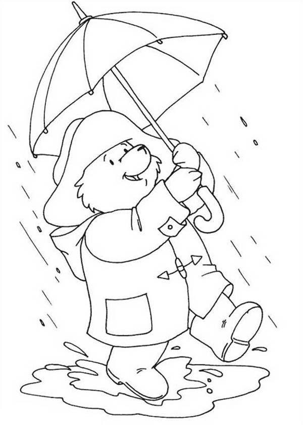 paddington bear coloring pages # 31