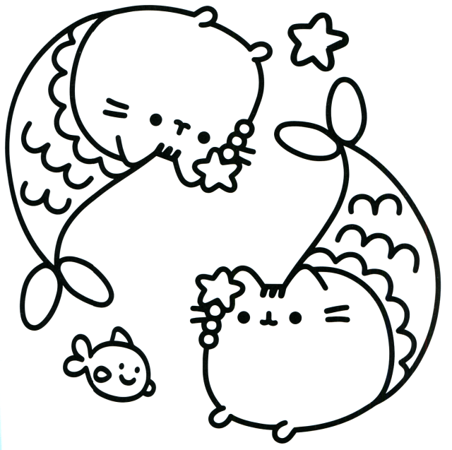 Nyan Cat Coloring Pages - Coloring Home