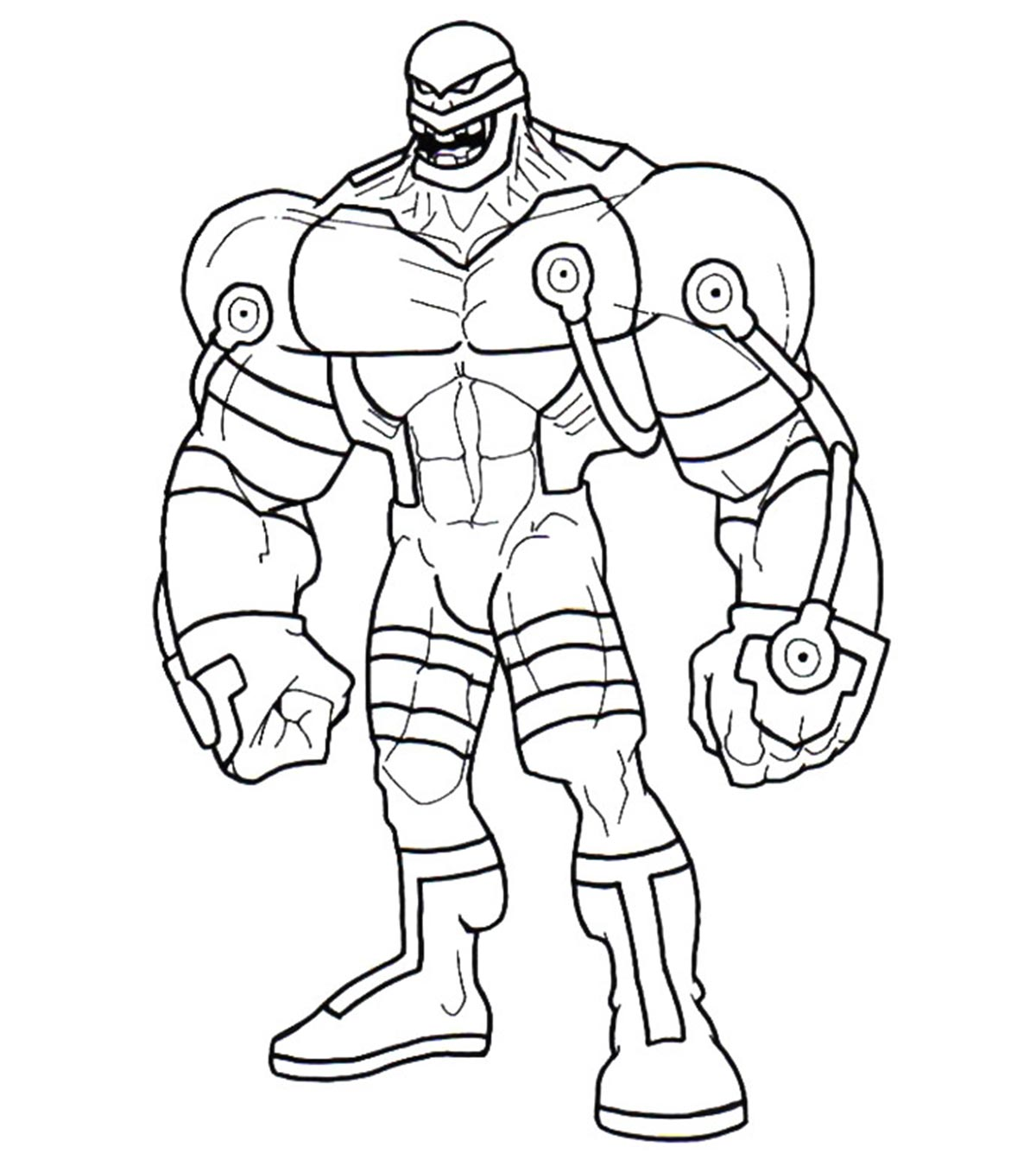 Bane Coloring Pages