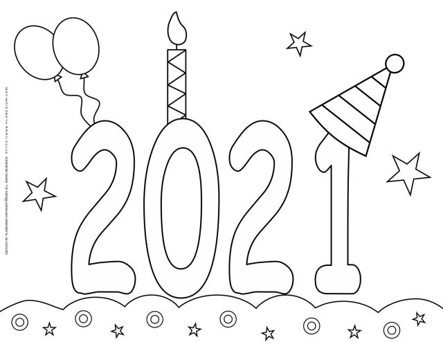 New Year 28 Coloring Pages - Coloring Home