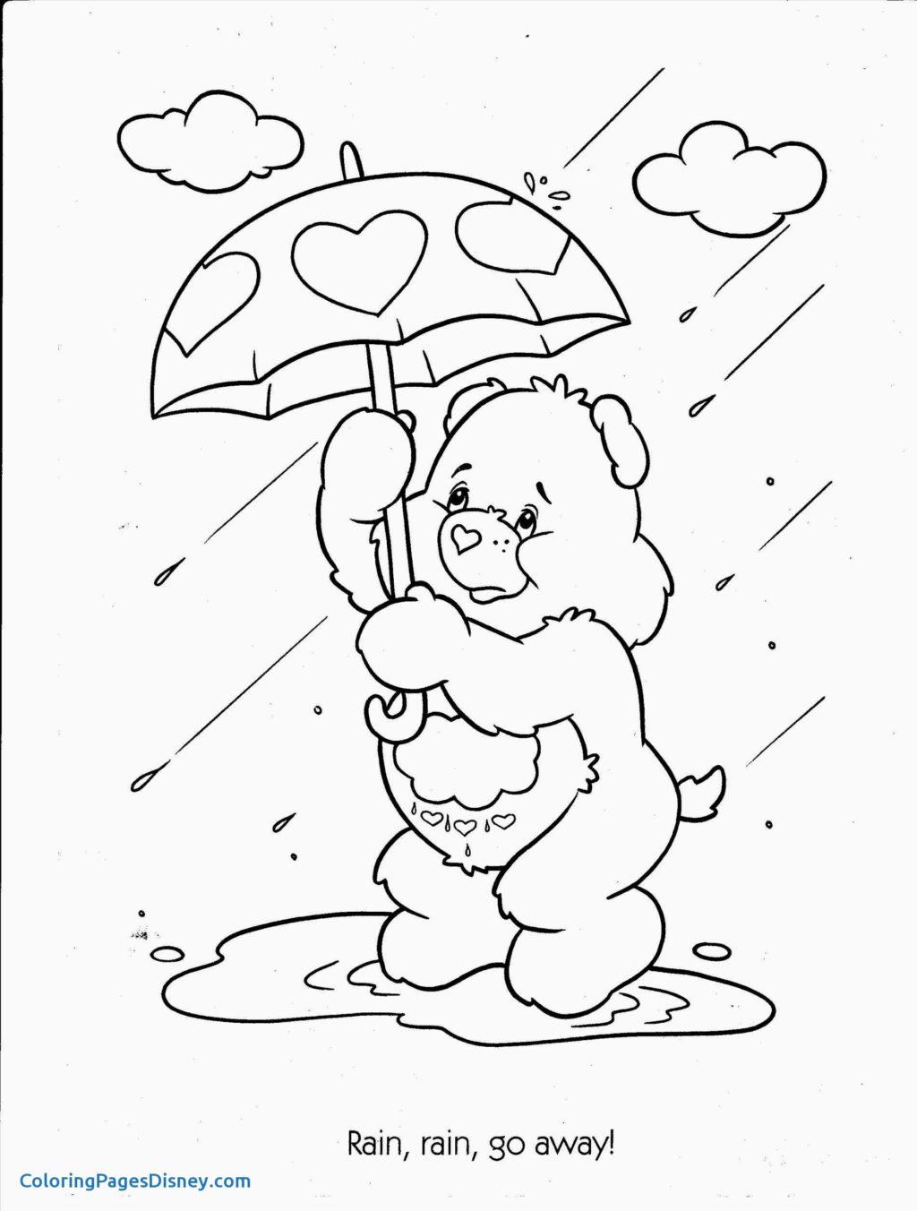 Worksheet Worksheet Coloring For Kids Preschool Rainy