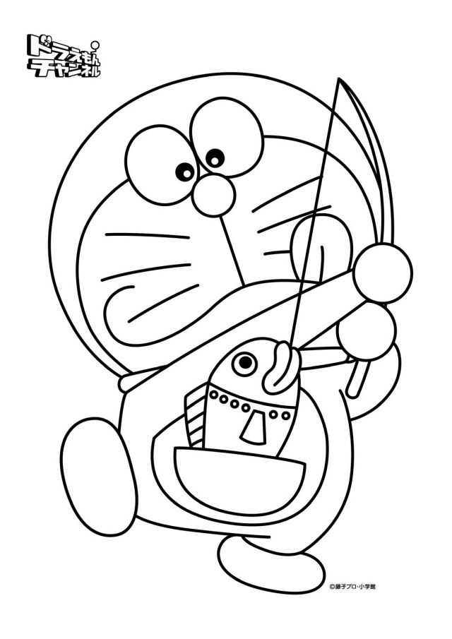 Doraemon Coloring Pages - Coloring Home
