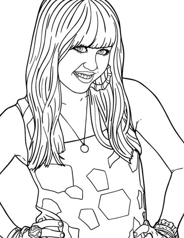 disney channel characters coloring pages  coloring home