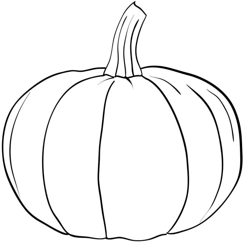 Pumpkin Coloring Pages To Print Free Coloring Home
