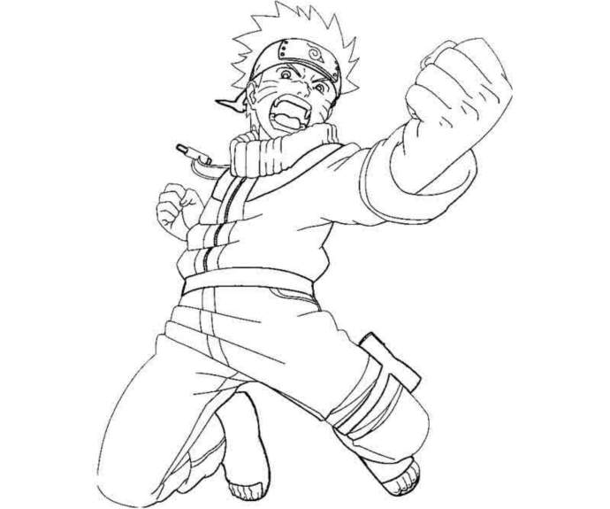 Coloring Pages Of Naruto Shippuden Characters Printable Kids