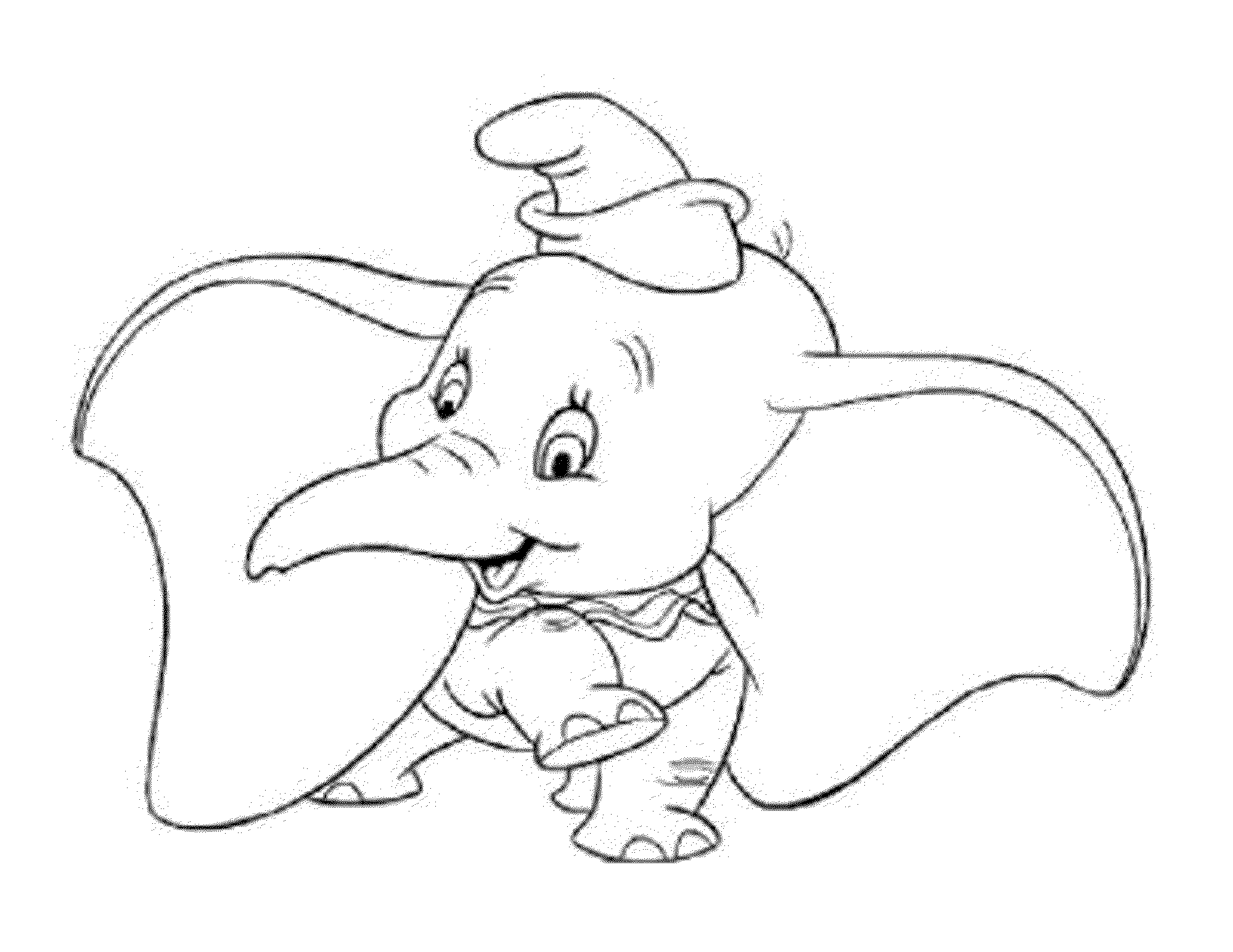 Piggie And Elephant Coloring Pages