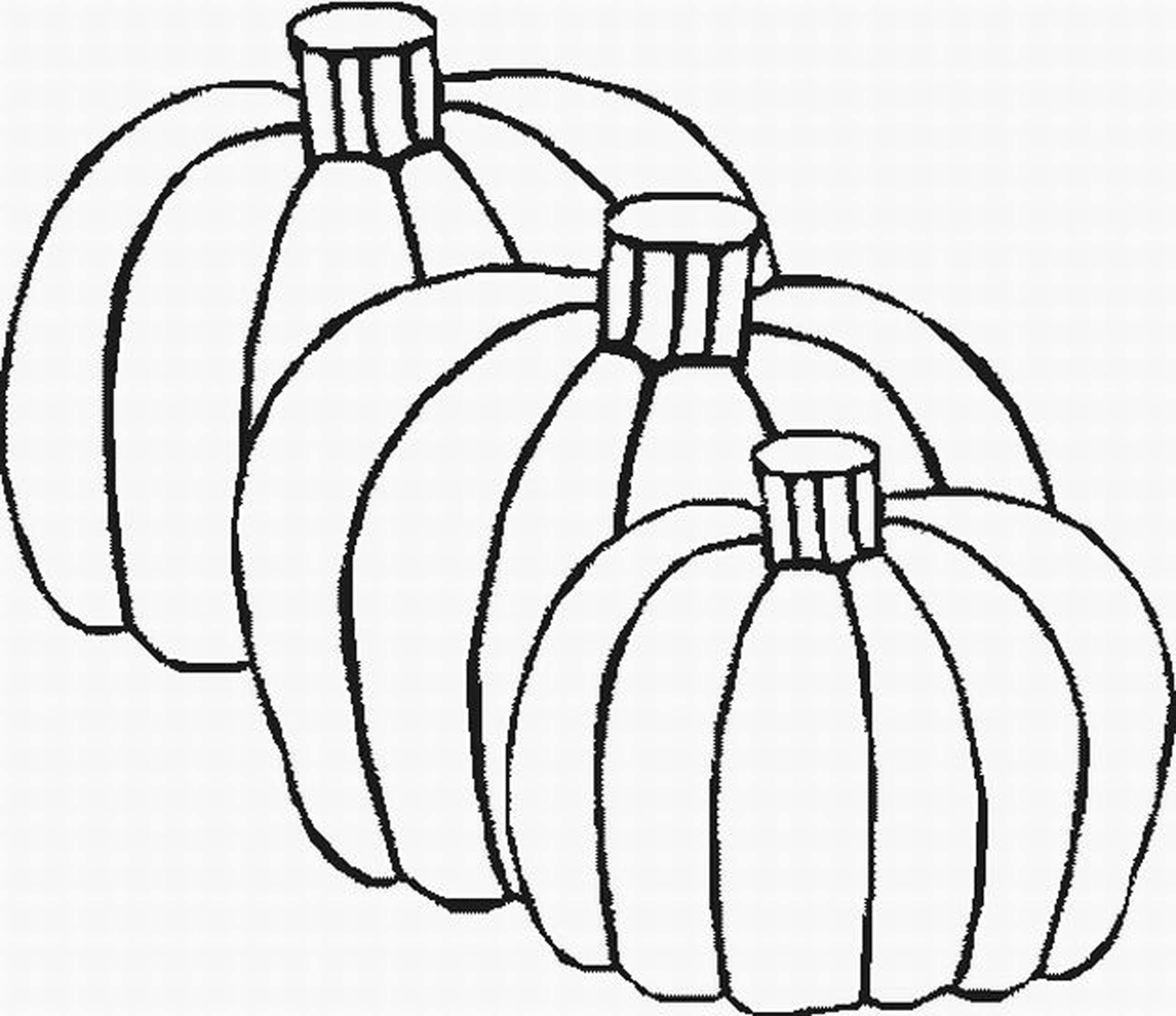 Fall Pumpkin Coloring Pages To Print