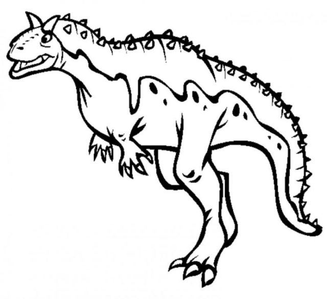 Carnotaurus Coloring Pages - Coloring Home