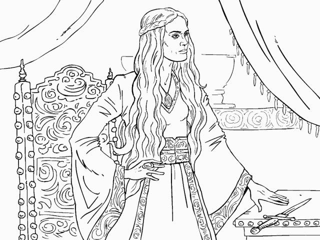 Game Of Thrones Coloring Pages - Coloring Home
