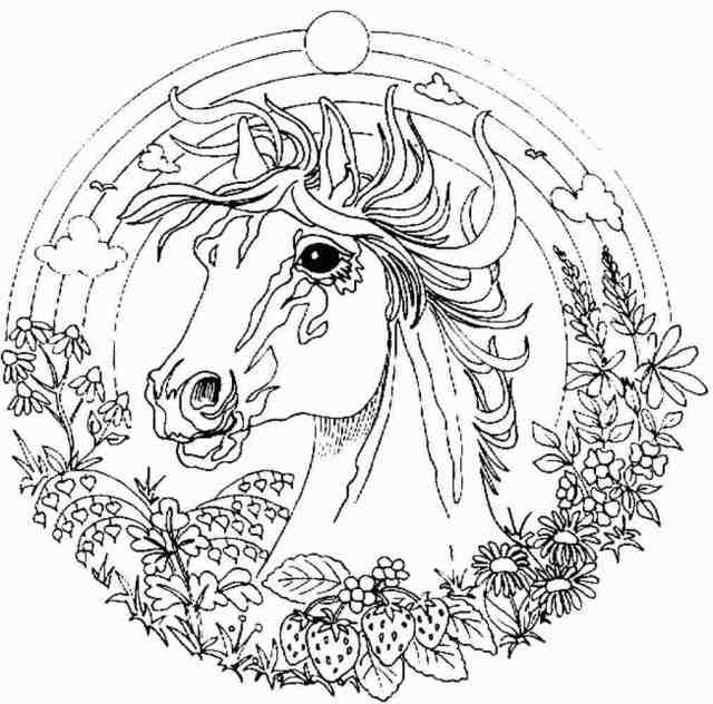 Printable Fantasy Coloring Pages For Adults - Coloring Home
