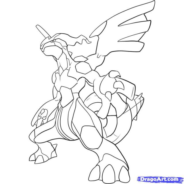 The Best Free Zekrom Coloring Page Images. Download From 17 Free