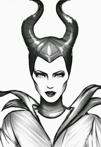 Maleficent Coloring Pages   Coloring Home Disney Movie Princesses  Maleficent Free Printable Coloring Pages