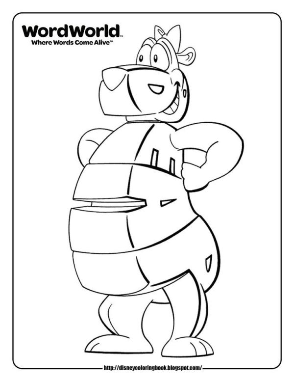 word world coloring pages # 3