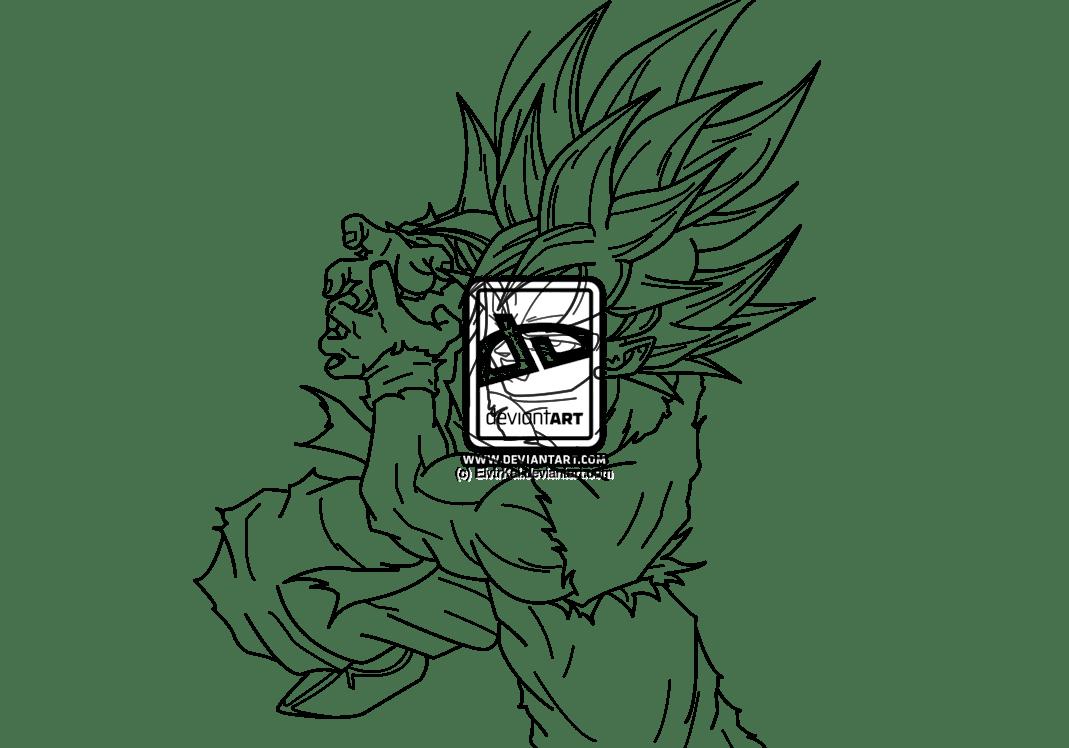 Dragon Ball Z Coloring Pages Goku Super Saiyan God Coloring