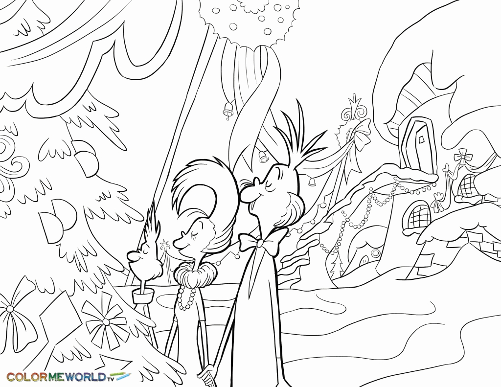 Whoville Characters Free Printable Coloring Pages