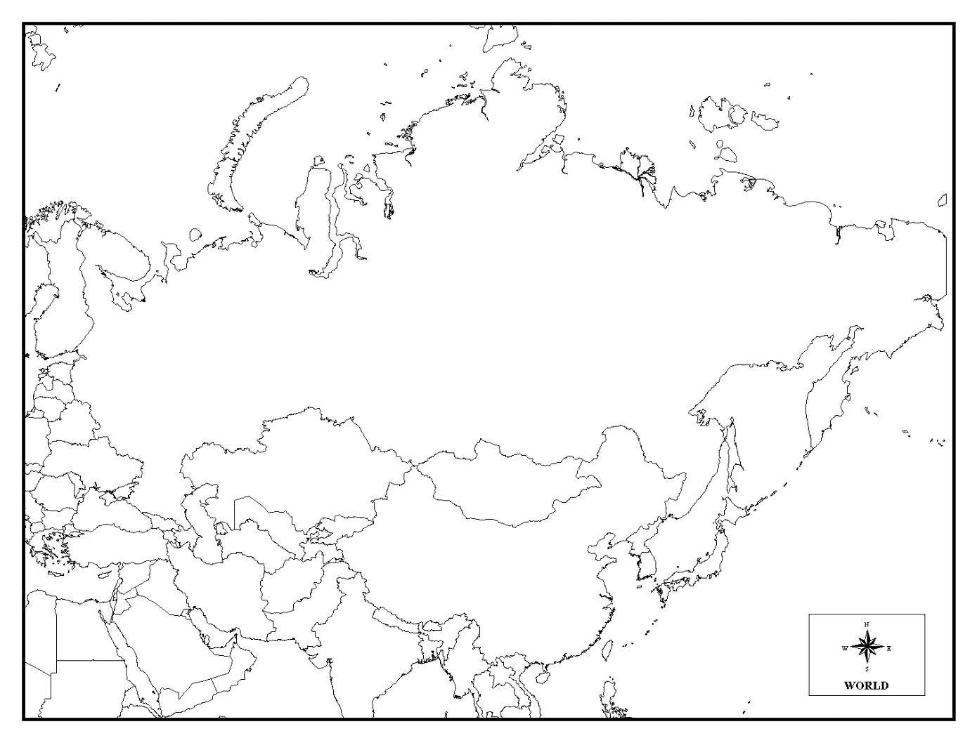 Projection Map Blank Printable World Outline Maps Royalty Free