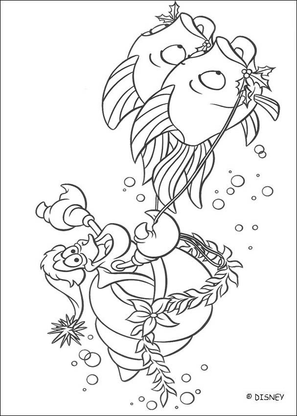 ursula little mermaid coloring pages  coloring home