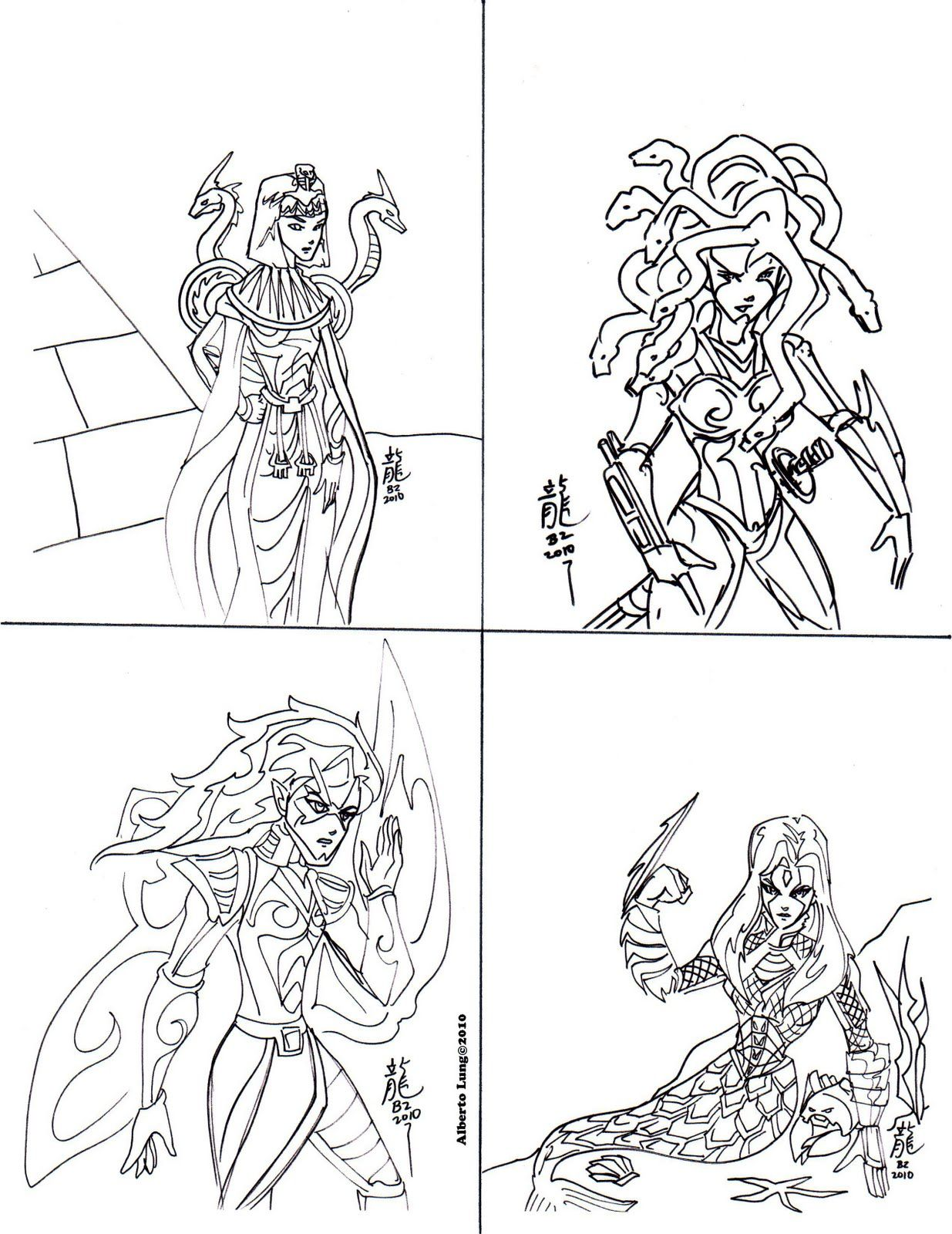 Greek Gods And Goddesses Coloring Pages Free