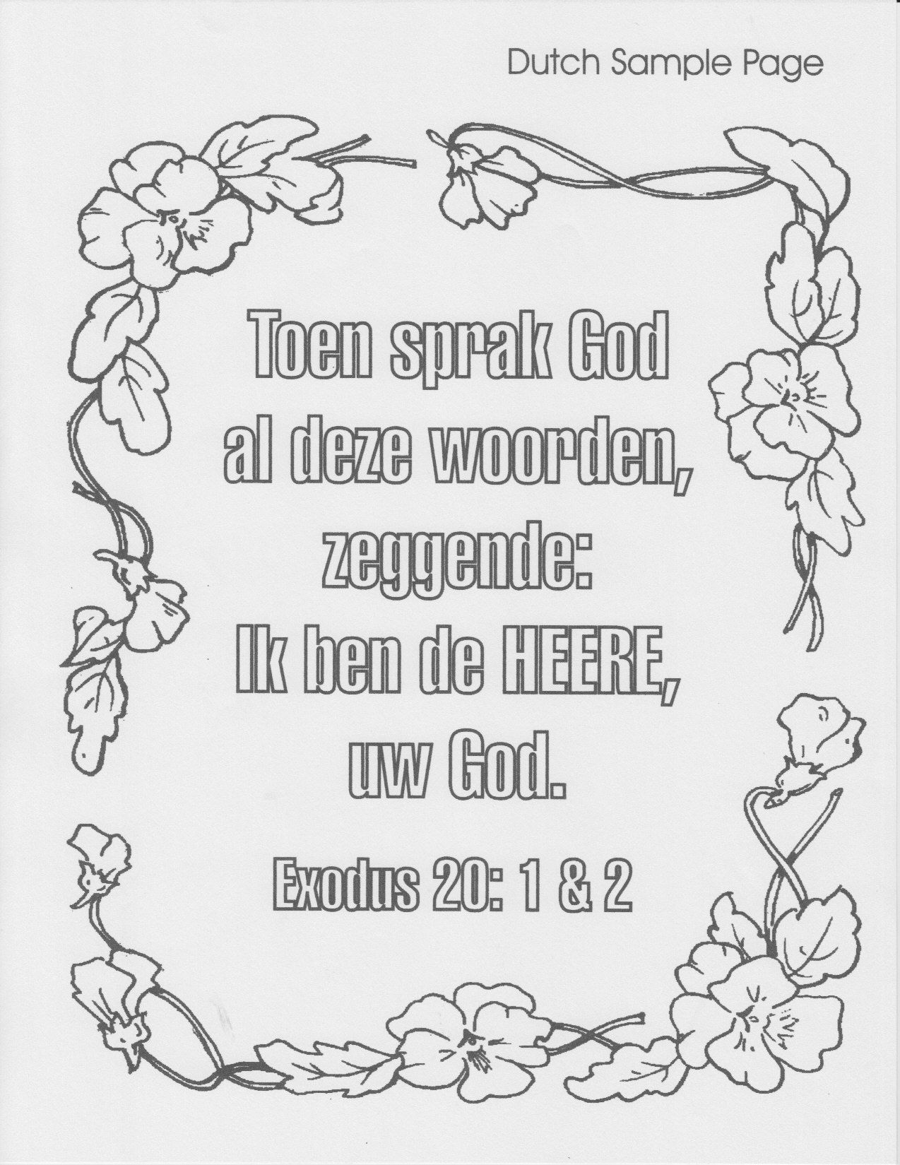 Spanish Gospel Coloring Page Coloring Home