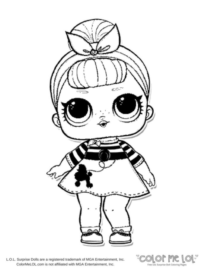 Lol Doll Coloring Pages Coloring Home