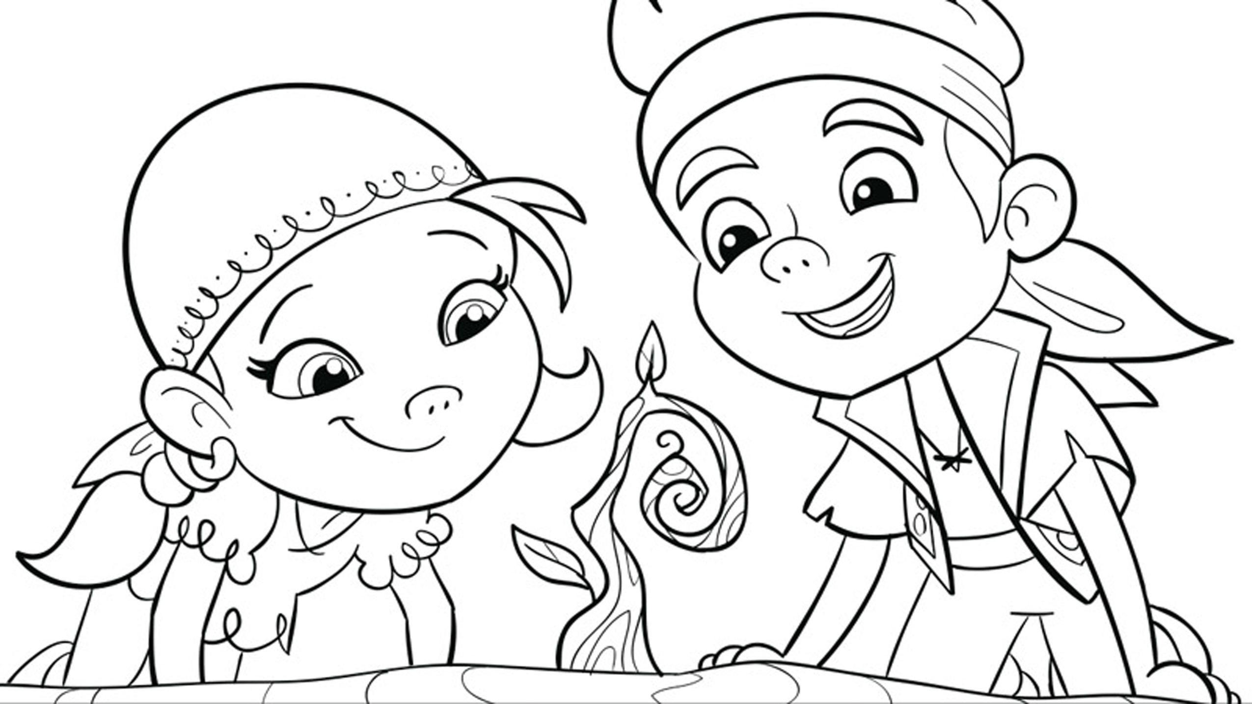 Preschool Disney Coloring Pages