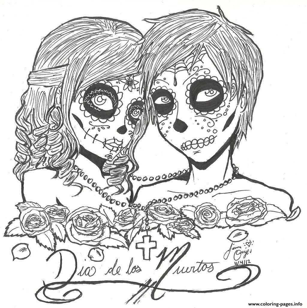 Detailed Coloring Pages For Adults Skull