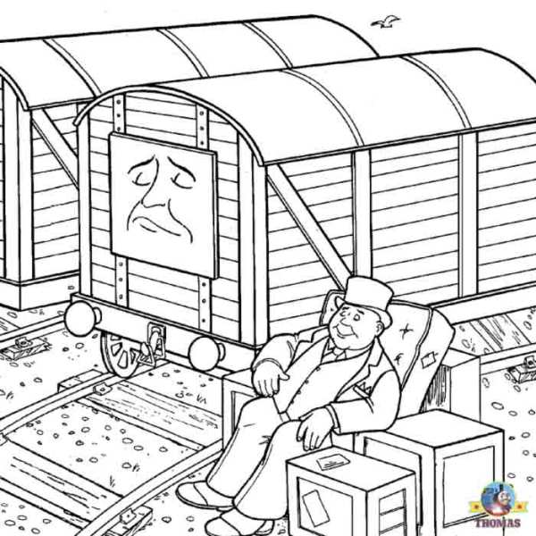 train coloring pages # 39