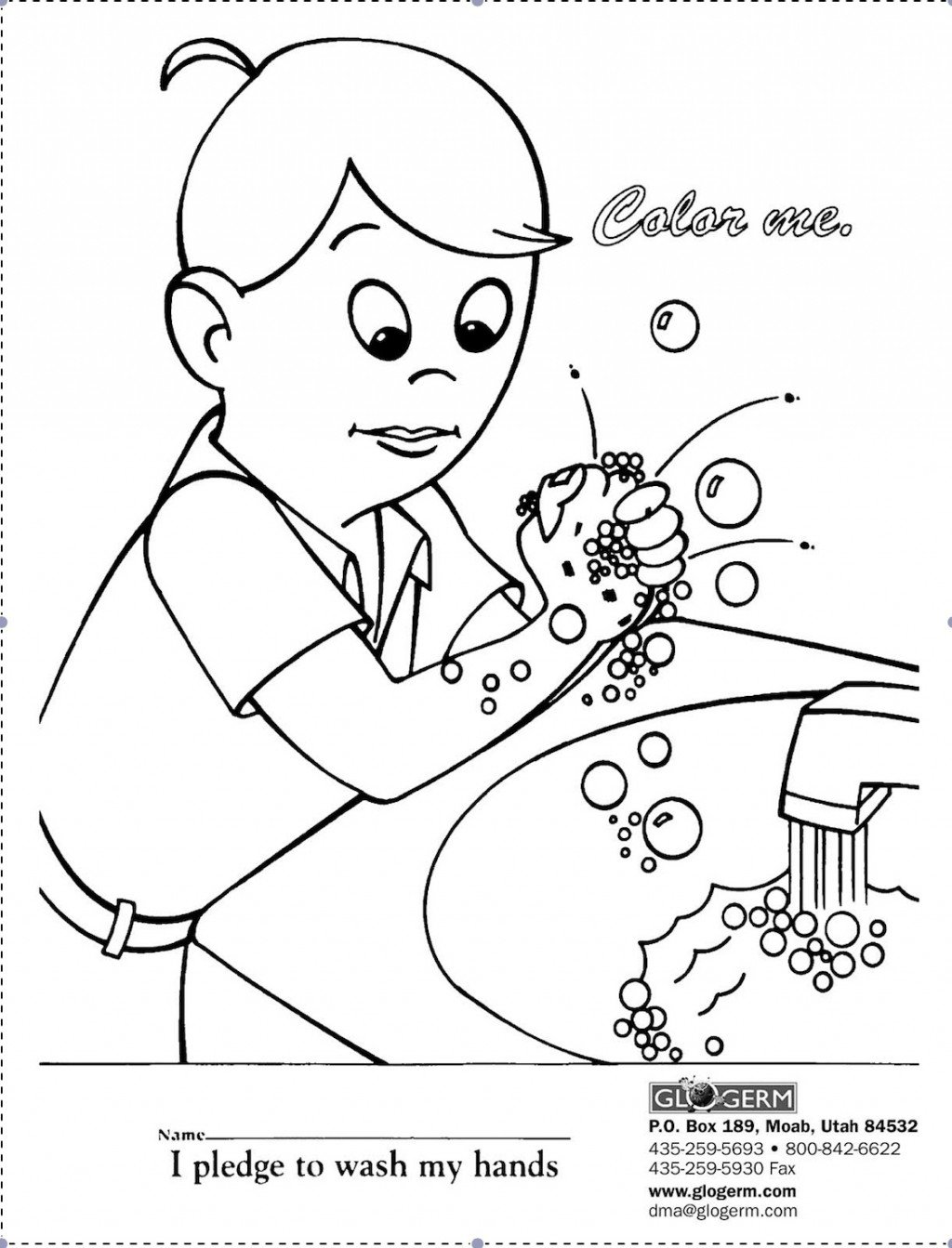 Germ Coloring Pages
