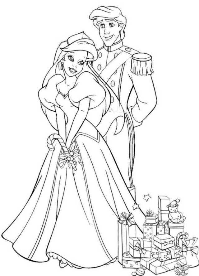 New Disney Princess Wedding Coloring Pages - Coloring Pages