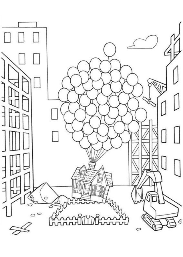 Up Coloring Pages : Up Coloring Pages Printable. Up Coloring Pages