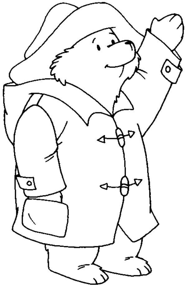 paddington bear coloring pages # 13