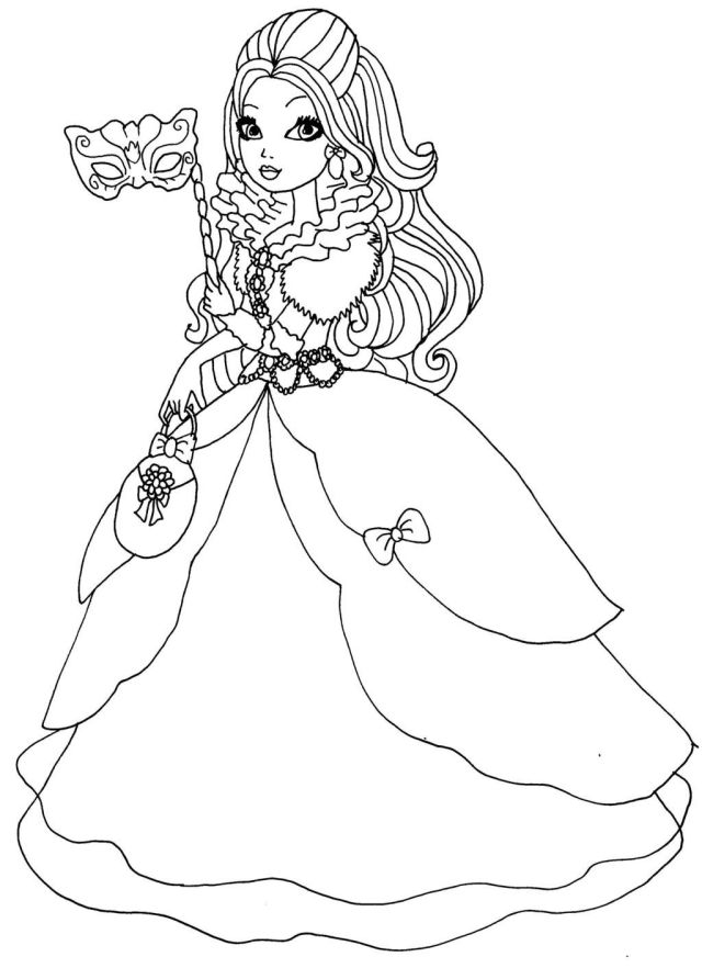 Ever After High Coloring Pages - Coloring Home