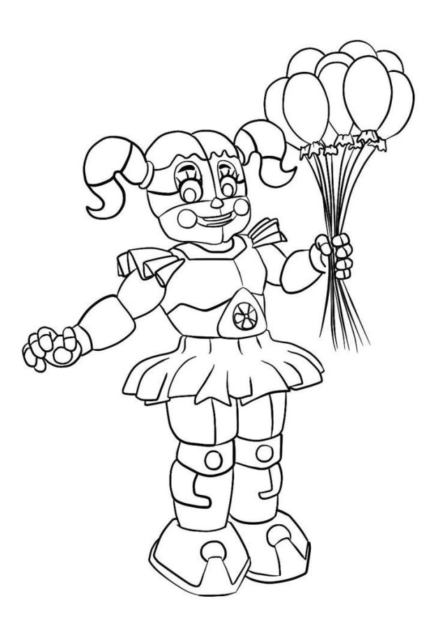 Circus Baby Coloring Pages - Coloring Home