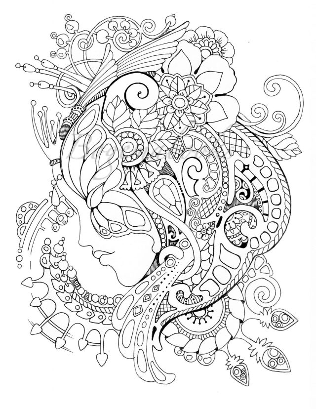 Extraordinary Grown Up Coloring Pages Printable Image Inspirations