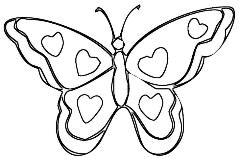 heart  wings coloring page]  coloring home