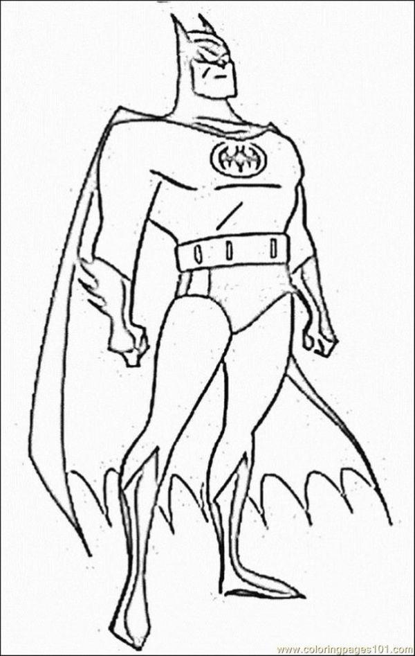 printable batman coloring pages # 10