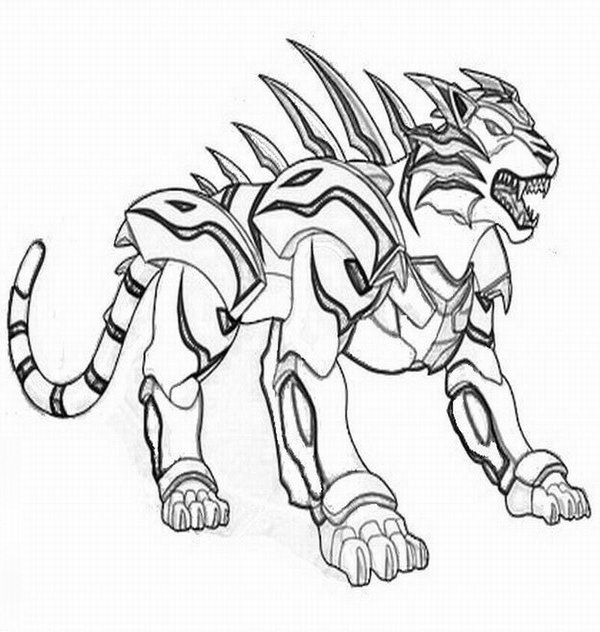 Bakugan Coloring Pages Coloring Kids