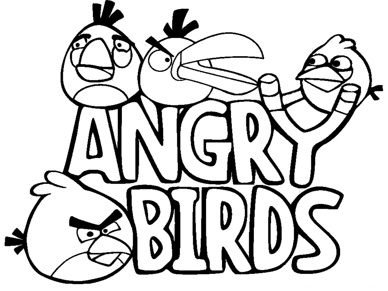 Cartoon Coloring Pages 24