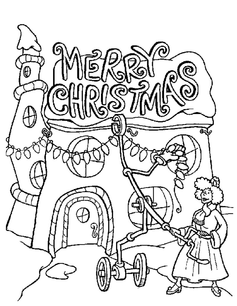 Christmas Coloring Pages 9 Coloring Kids