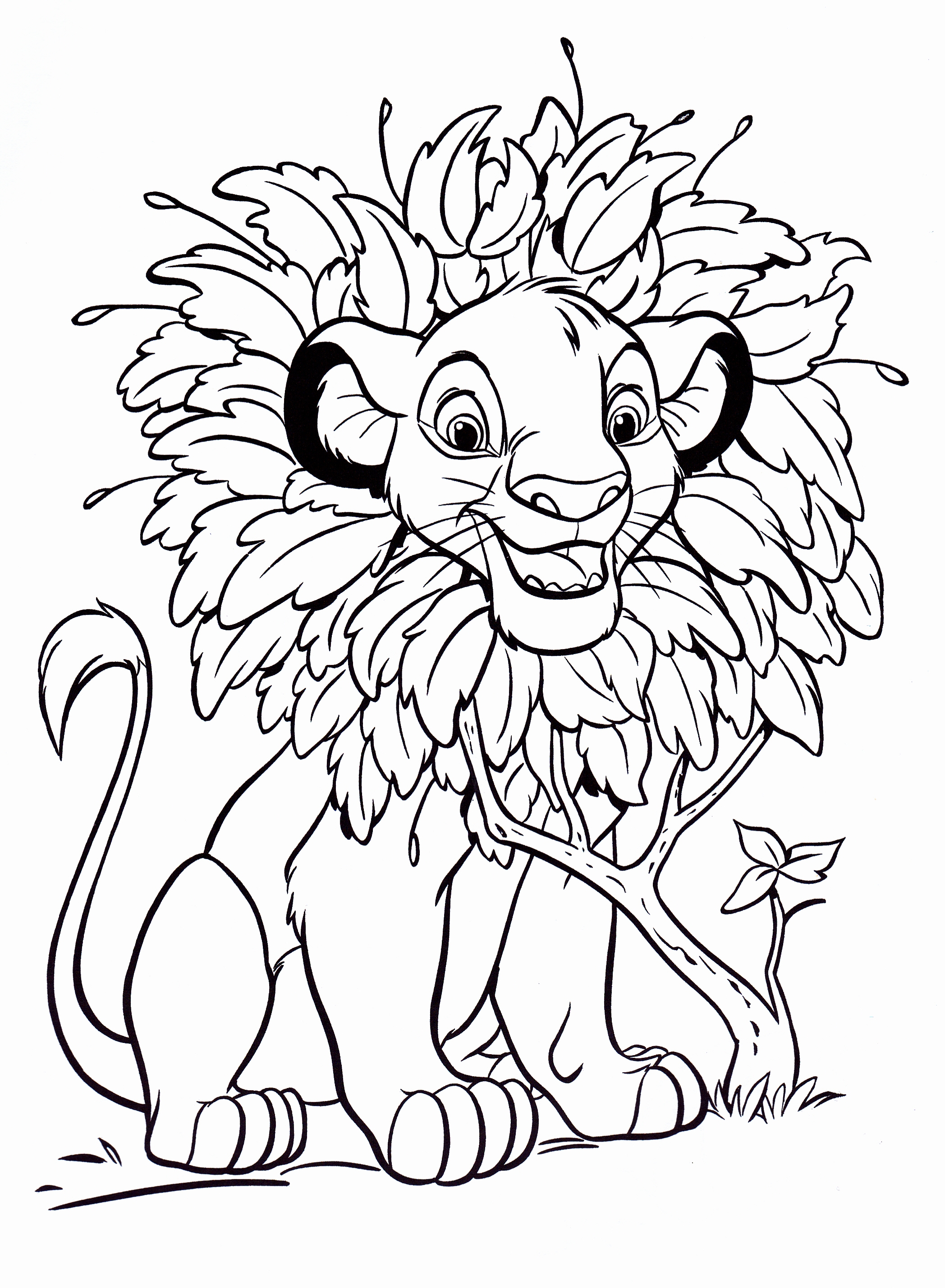 Disney Coloring Pages (9) - Coloring Kids | free coloring pages for toddlers disney