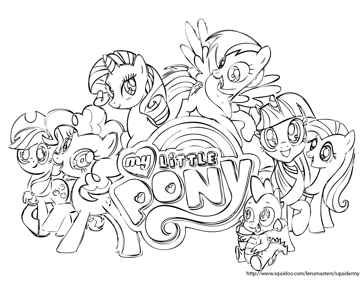 My Alternate Blog My Little Pony Coloring Pages Coloring Kids