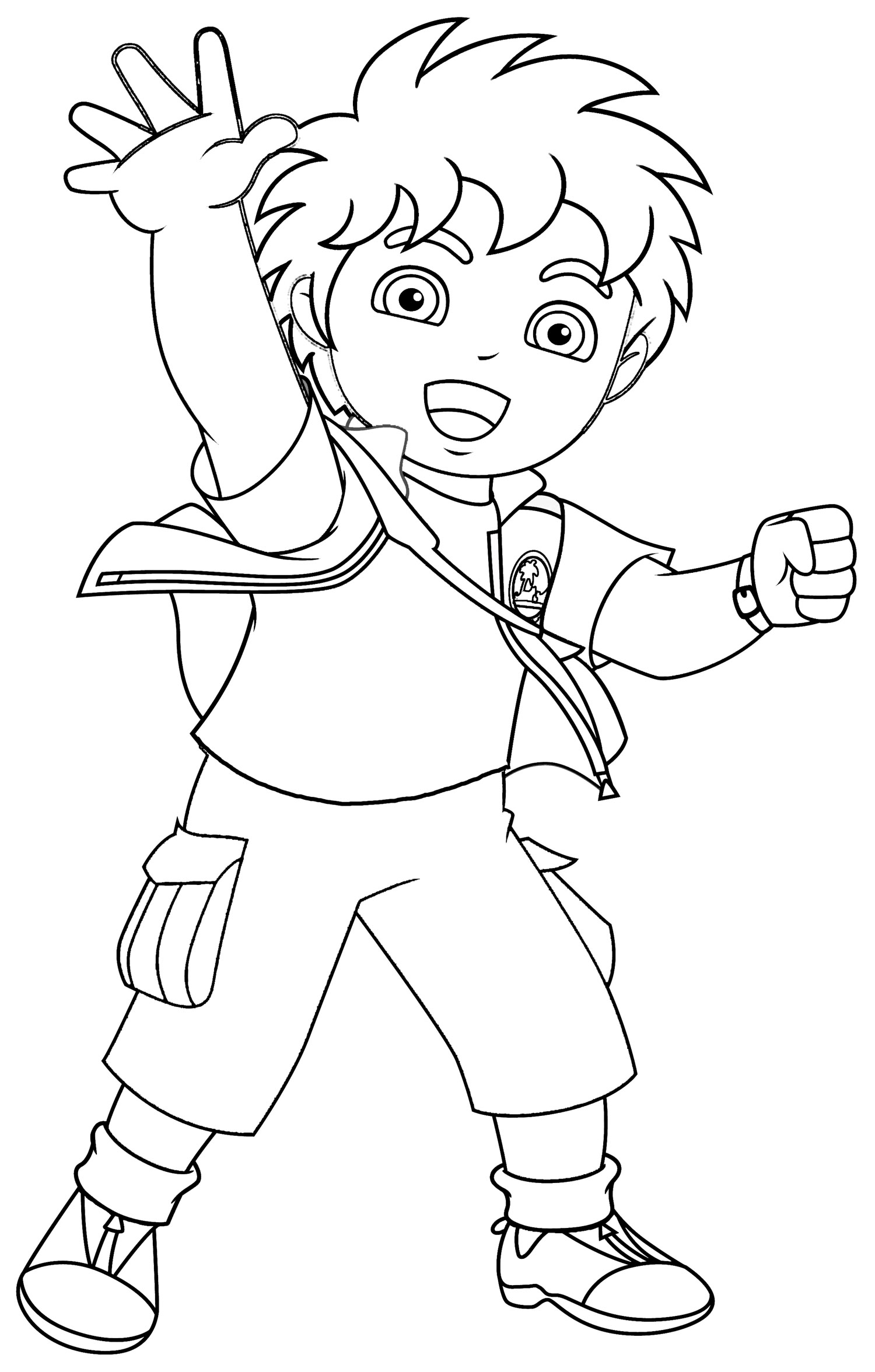 Nick Jr Coloring Pages 8